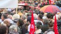 Manifestaion des habitants à Rouen