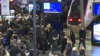 Grève SNCF : Illustrations gare du Nord