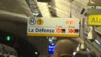 Grève SNCF : Illustrations métro ligne 1