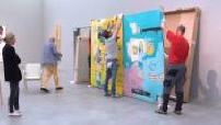 Exposition Basquiat : galerie d'art de Bruno Bischofberger et derniers préparatifs à Zurich