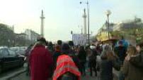 Charlie Hebdo : Lycéens ayant marché de Bordeaux à Paris