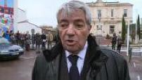 """Inauguration de la place """"Je suis Charlie"""" : Jean-Pierre TALLIEU, maire de La Tremblade"""
