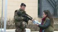 Attentat janvier 2015: les militaires chouchoutés par les francais