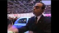 2002 Paris Motor Show: Carlos Ghosn- Louis Schweitzer ...