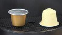 Sujet : capsules à café en amidon de maïs