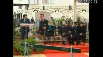 "Inauguration ""Place Claude Erignac"": ceremony + speech by B. Delanoë and N. Sarkozy"