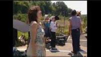 """Filming """"Sur un air d'autoroute"""""""