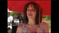 """Filming """"Sur un air d'autoroute"""" and interview Aure Atika"""