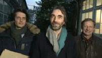 Cédric Villani in the countryside in Paris