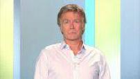 Interview of actor Franck Dubosc: evening news guest