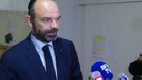 Coronavirus: Edouard Philippe visits the University Hospital of Bordeaux