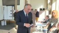 Municipal 2020, 1st round: Vote of François Bayrou in Pau
