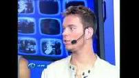 "Fun TV : émission ""Le Jeu"" - invités : Linkup (M Pokora)"