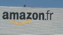 Coronavirus: Illustration of the Amazon site closed in Montélimar