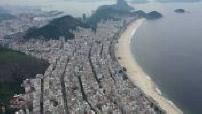 Drone views of the beaches of Rio de Janeiro