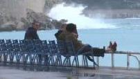 Coronavirus / Deconfinement: Street scenes on the Promenade des Anglais in Nice