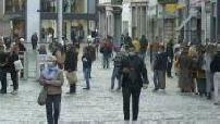 Deconfinement: Lille's bustling streets