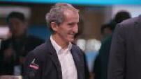 Paris Motor Show : Alain Prost, Christian Estrosi, Carlos Tavarès, Thierry Bolloré