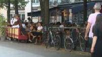 COVID 19: Parisian café terraces
