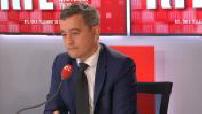 This morning's guest on RTL : Gérald Darmanin