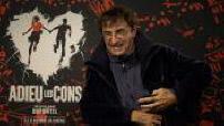"Film ""Adieu les cons"": ITW Albert Dupontel and Virginie Efira"