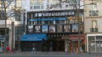 7 Parnassians: facade and empty cinema room