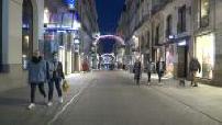 Covid-19 / Lockdown : Christmas illuminations in Nantes
