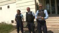 Gendarmerie and Republican Guard controls