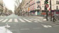 Coronavirus: confinement in Paris: microtrottoir