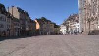 Coronavirus / Curfew in Mulhouse: ghost town, microtrottoir