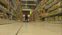 Illustrations shortage in supermarket