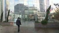 Illustrations rather deserted in La Défense
