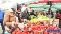 OFF - Crépy-en-Valois market during the Coronavirus epidemic