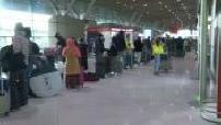 Covid-19 screening : passenger queues at Paris-Charles de Gaulle airport