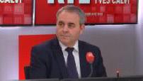 This morning's guest on RTL : Xavier Bertrand President of the Hauts-de-France region