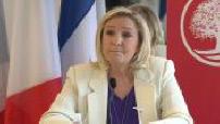 Conférence de presse Marine Le Pen et Jean-Philippe Tanguy 2/3