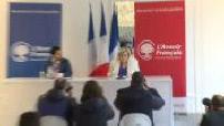 Conférence de presse Marine Le Pen et Jean-Philippe Tanguy1/3