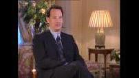 "Interview of Tom Hanks for ""Cast away"""