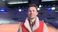 Video shoot at Roland Garros with Martin Solveig and Bob Sinclar