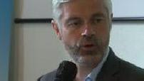 Regional elections 2021 : Laurent Wauquiez presents his programme for the Auvergne-Rhône-Alpes region