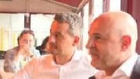 Regional elections 2021 : Laurent Pietraszewski campaigns in Berck sur Mer