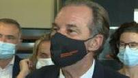 Régionales 2021 : Renaud Muselier en campagne à Marignane