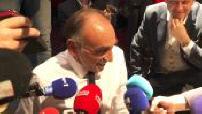 Interview d'Eric Zemmour lors de meeting à Lille