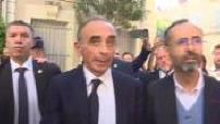 Eric Zemmour rend visite à Robert Ménard à Béziers