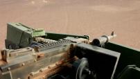 Opération Barkhane au Mali : convoi de l'armée française de Gao à Tessalit - prise en charge d'un blessé