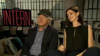 "Interview de Robert de Niro et Anne Hathaway ""the Intern"""