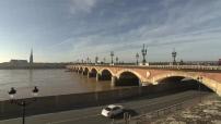 Vues du Pont de Pierre à Bordeaux