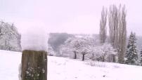 Neige dans l'Isère