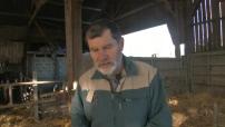 Notre Dame des Landes interview d'un propriétaire avant son expulsion