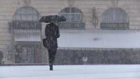 Météo : illustrations neige dans le nord-est